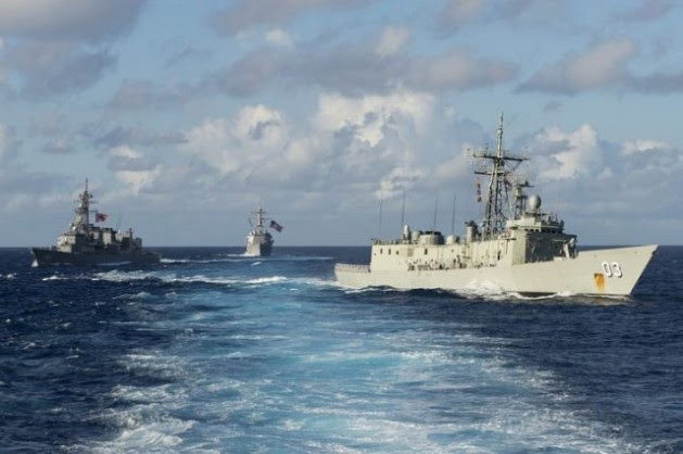 """The Obama administration's """"Pacific Pivot"""" will make it more difficult than ever for countries of the region to stay neutral in an emerging rivalry between the United States and China. Credit: U.S. Navy/public domain"""
