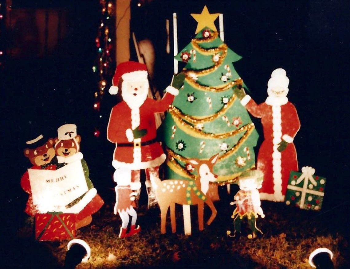 Christmas Yard Decorations Patterns Wood Eki Riandra
