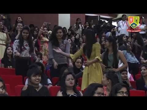 Nimsotsav : Full & Final - Dance, Music, Fun & Crowd | Nims University | College Students Party