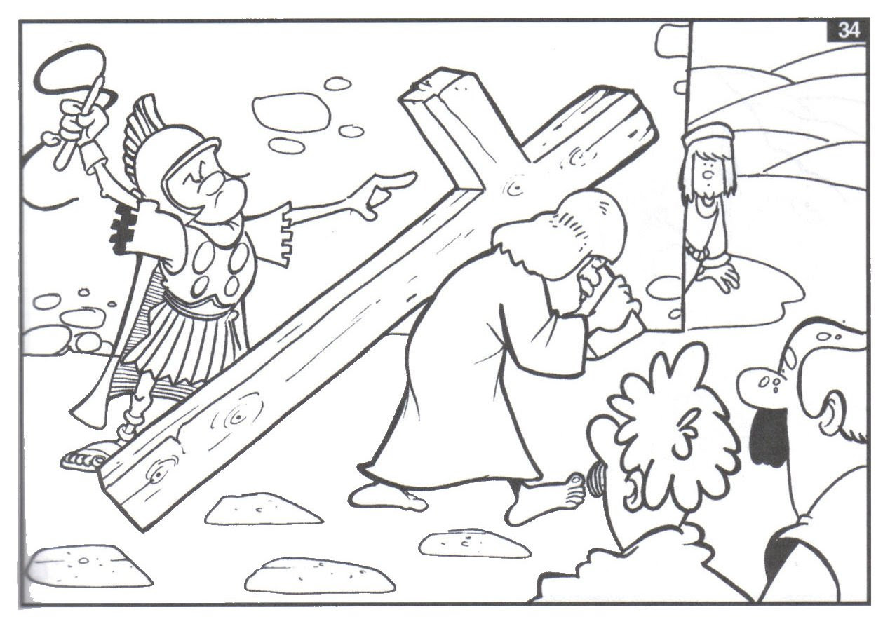 Dibujos Para Colorear De Semana Santa Los Más Bonitos