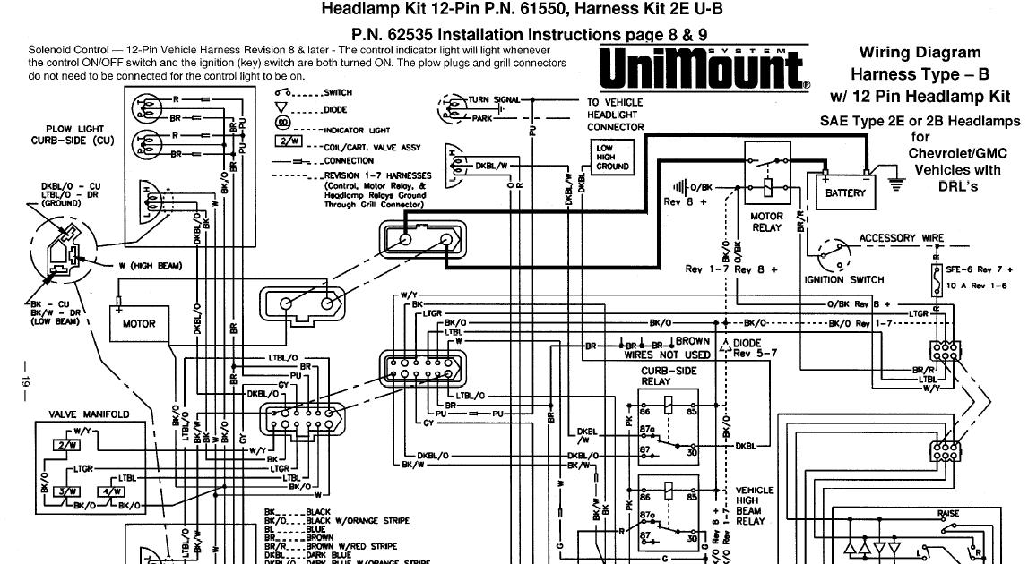 Western Plow Wiring Diagram 1997