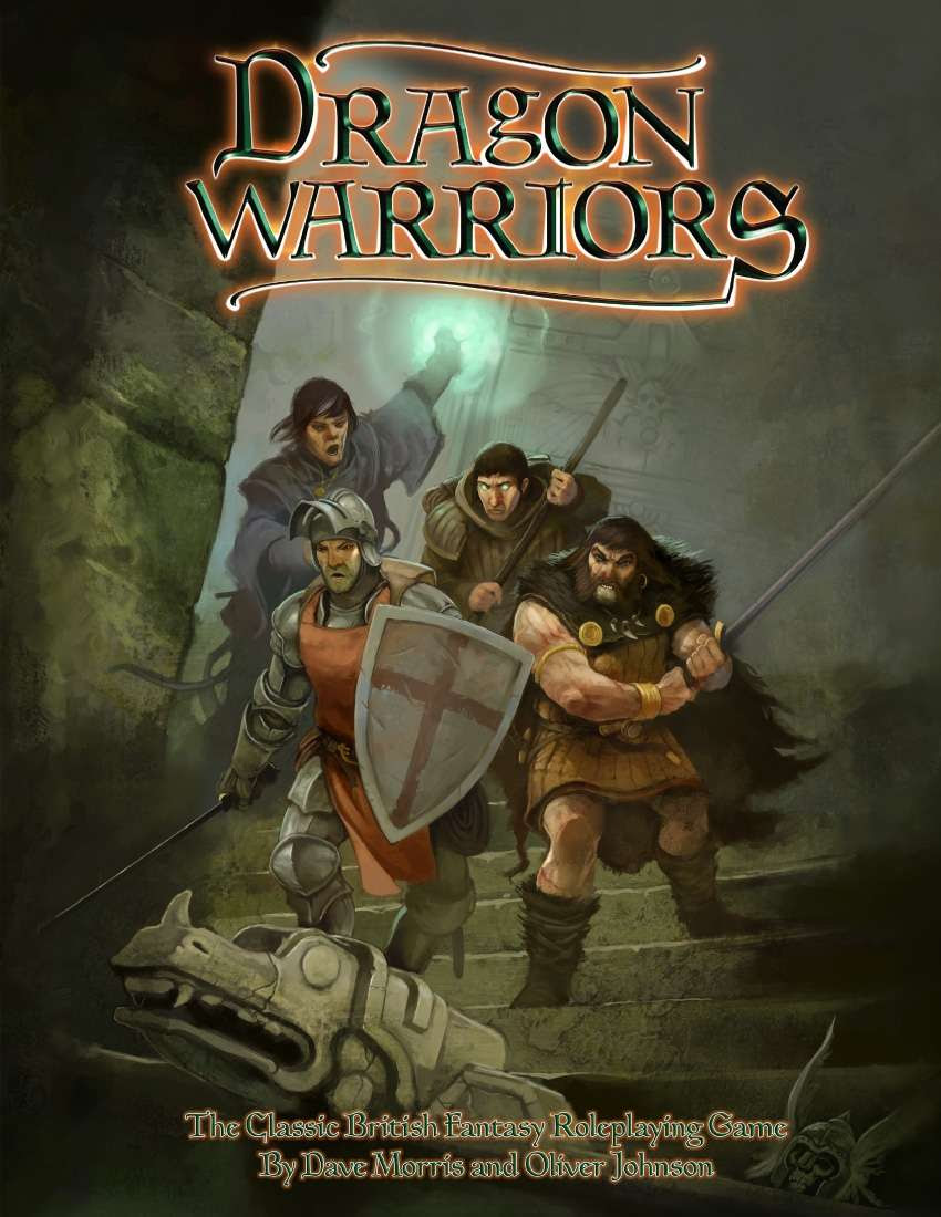 Image result for dragon warriors rpg cover