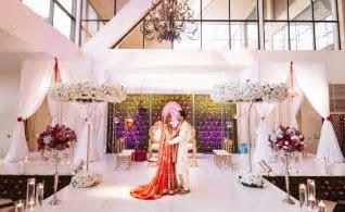 Bridal Train Lehengas ? Indian Wedding Venues: Southern