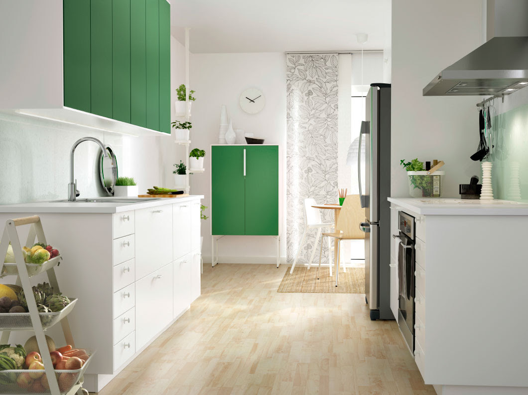 Why the Little White IKEA Kitchen is So Popular