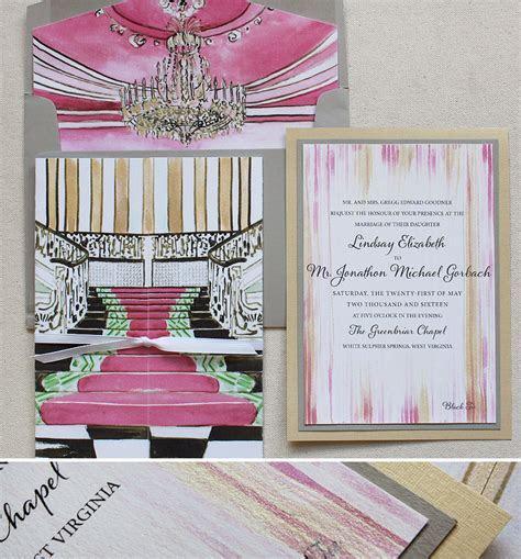 Lindsay G.   Venue and Gate Wedding InvitationsMomental