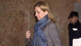 Durant el judici, Cristina de Borbó deixa de tenir feina i de percebre un sou a La Caixa (EFE)