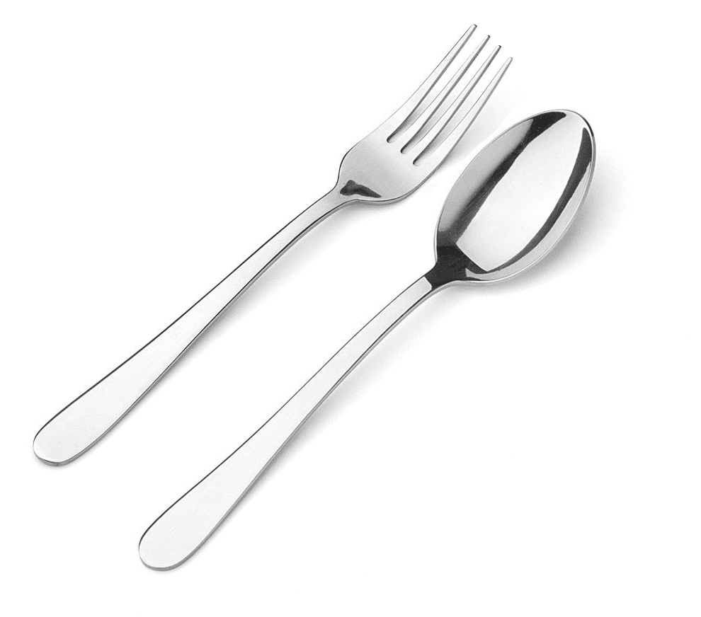 Sky Blue Fork Spoon Cutlery Carriage