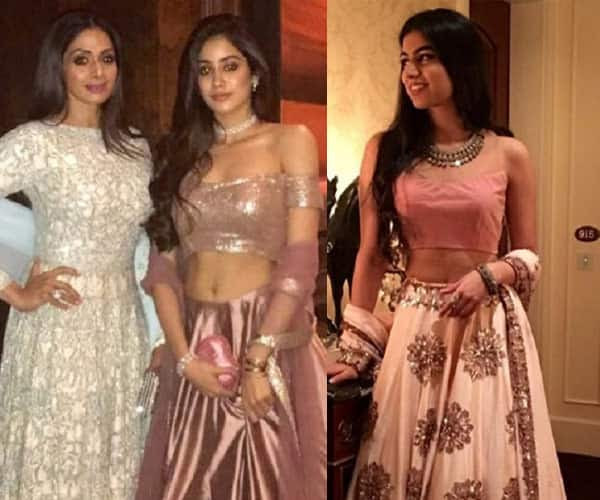 Sistas Jhanvi Kapoor and Khushi Kapoor ROCK the ethereal look