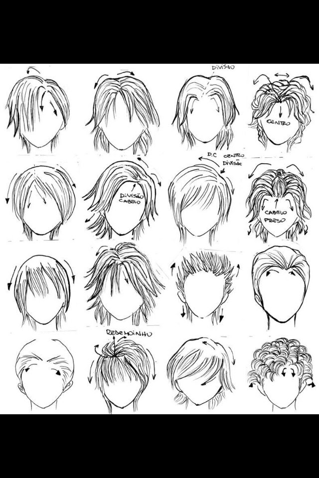 Best Image Of Anime Boy Hairstyles