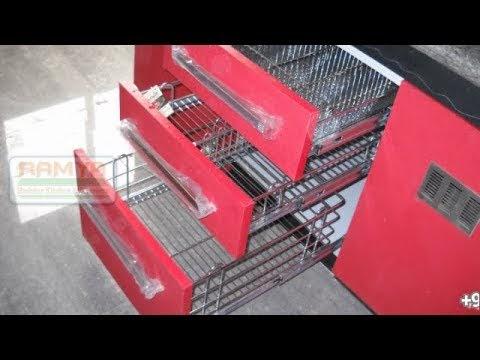 Kitchen Basket Models Ramya Modular Kitchen