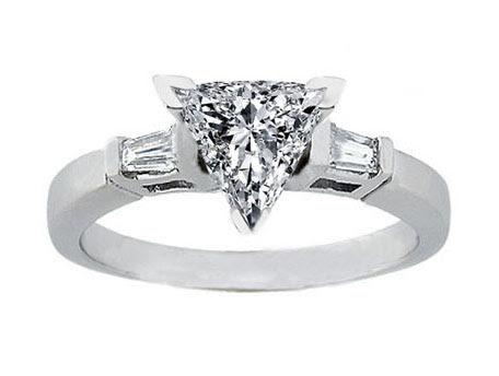Resultado de imagen para trilliant diamonds rings