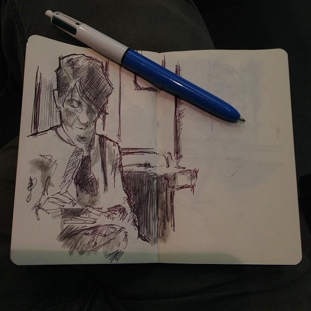 #train #sketches