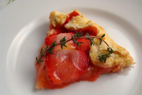 Strawberry Galette Slice