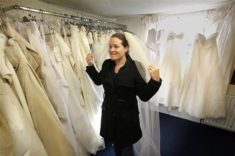 Laura Griffiths in Brides Try On Wedding Dresses At The