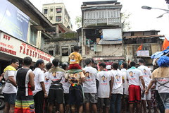 Dahi Handi Bandra Bazar Road 2012 by firoze shakir photographerno1