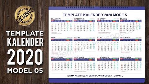 Kalender 2020 Yang Ada
