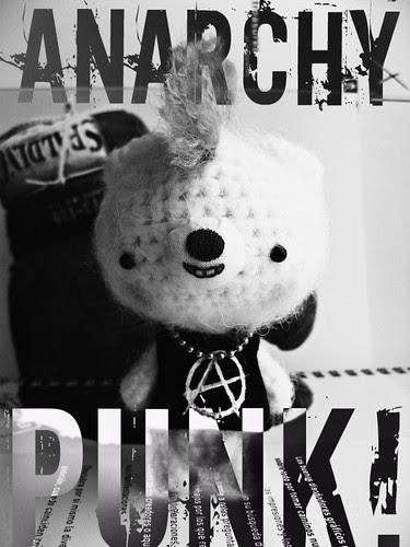 Ursy, the punk bear