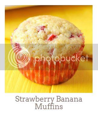 """""""Strawberry Banana Muffins"""""""