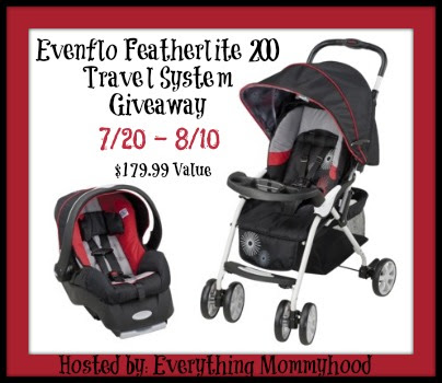 Evenflo Travel System Giveaway