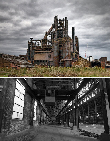 Abandoned Places Bethlehem Steel Factory 1