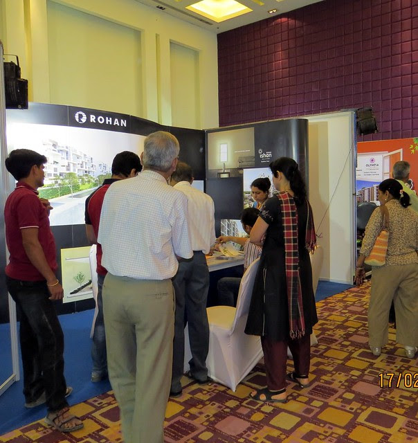 "Rohan - The Times of India Pune Property Exhibition  ""Invest in West Pune""  16th & 17th February 2013"