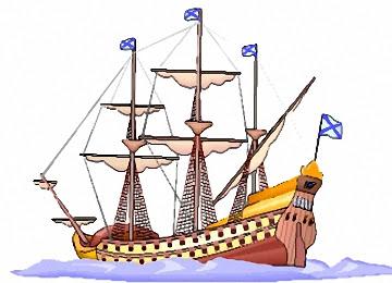 piratenschiff zum ausmalen und ausdrucken - malvorlagen