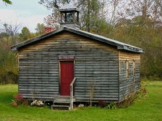 Mill Creek, West Virginia.. one room schoolhouse