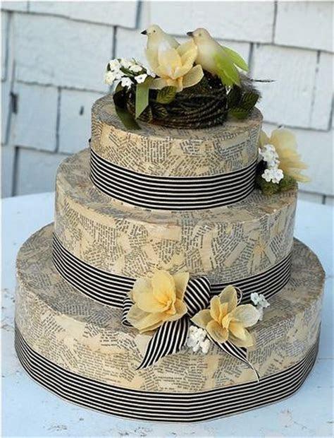 DIY Wedding Cake Card Box   Once Wed