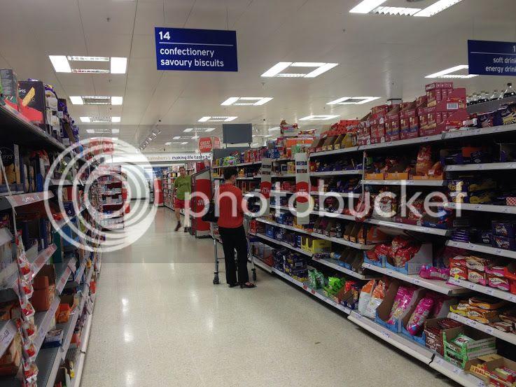 Cadbury Chocolate at Sainsburys