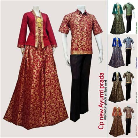 jual baju batik couple sarimbit model ayumi seragam pesta