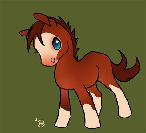 chibi  horses  pinterest