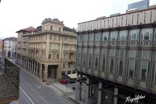 Vistas de Turin desde el hotel Dock Milano