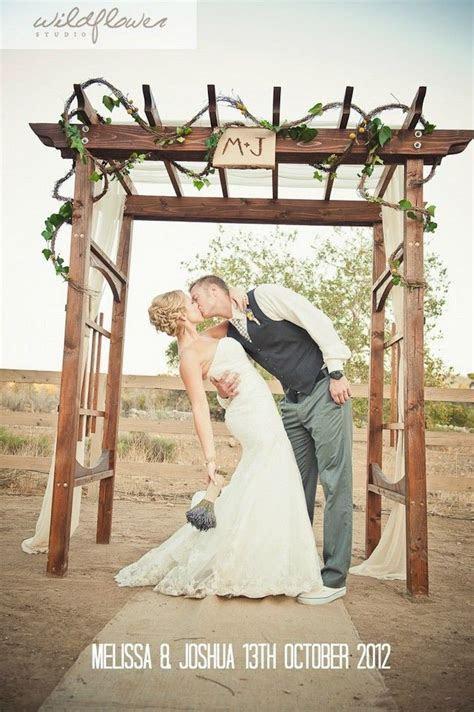 Wooden Wedding Arches
