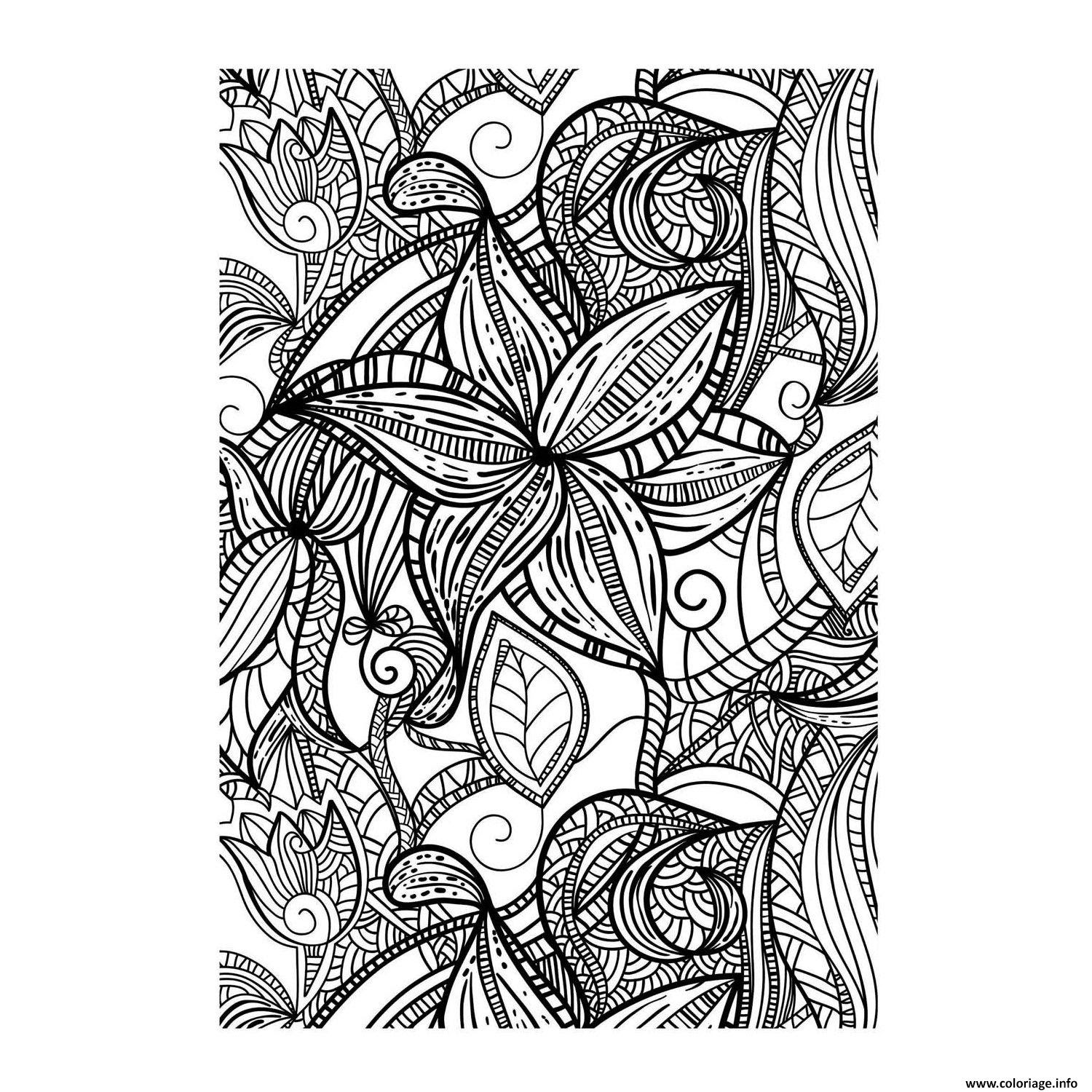 Coloriage Art Therapie 58 Jecoloriecom