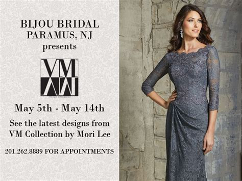 VM COLLECTION BY MORI LEE MOTHERS GOWN TRUNK SHOW