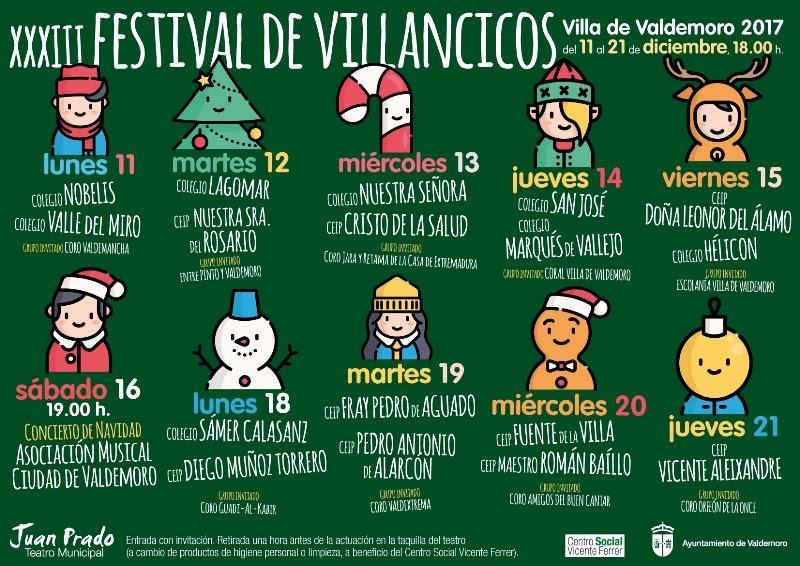 Resultado de imagen de festival de villancicos valdemoro 2017