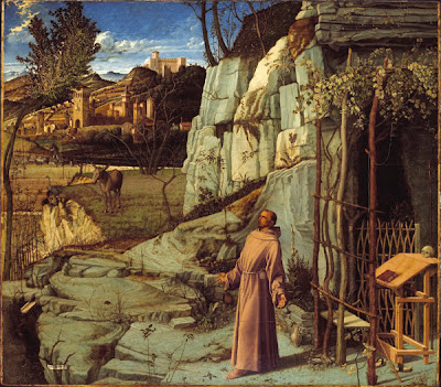 Bellini's St Francis of Assisi in the Desert