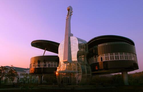 0 14 Futuristic Building Designs in China