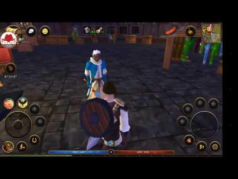 Villagers & Heroes: Reborn Android MMORPG Oyunu / Gameplay