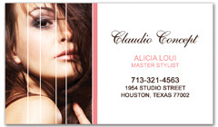 BCS-1007 - salon business card