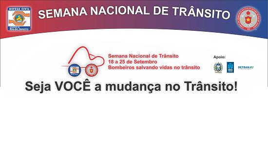 Corpo de Bombeiros promove ações de conscientização na Semana Nacional de Trânsito
