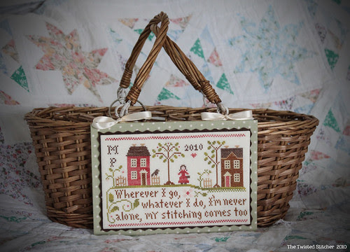 "Little House Needleworks ""Travelling Stitcher"" Basket"