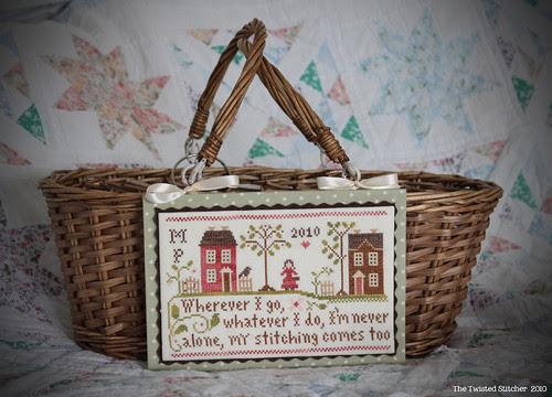 "Little House Needleworks ""Travelling Stitcher"" Basket"