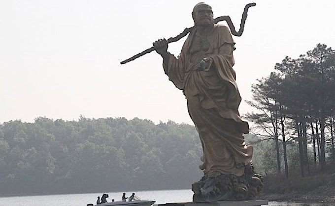 The Father Of  Martial art KungFu : Bodhidharman