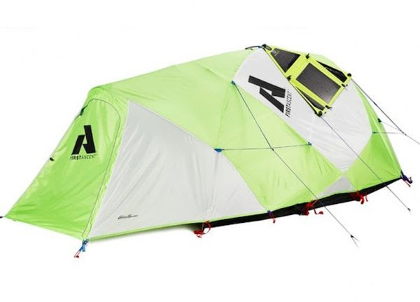 Solar Powered Tent from Eddie Bauer and Goal Zero