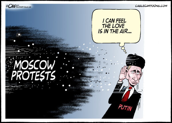 Olle Johansson - Sweden - Love is in the air - English - Russia, Election, Vladimir, Putin, Protests, Wind, Storm