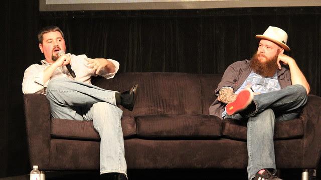 Jonathan Hickman and Jason Aaron.