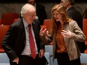 Картинки по запросу Чуркин  Пауэр на заседании Совбеза ООН
