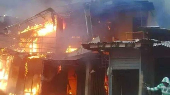 Property worth over a million razed by fire in Osun