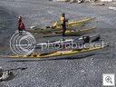 All 5 kayaks at Hamley
